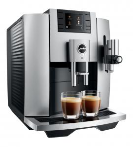 JURA E8 (EB) Moonlight Silver Kaffee-Vollautomat  15336