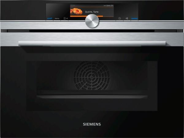 Siemens CM678G4S1 iQ700, Einbau-Kompaktbackofen mit Mikrowelle