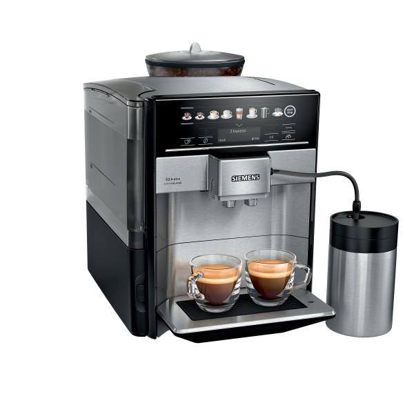 Siemens TE657F03DE Kaffeevollautomat EQ.6 plus extraKlasse Edelstahl