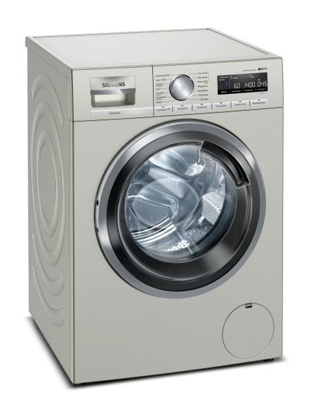 Siemens WM14VMS2 iQ700, Waschmaschine, Frontlader, 9 kg silber-inox