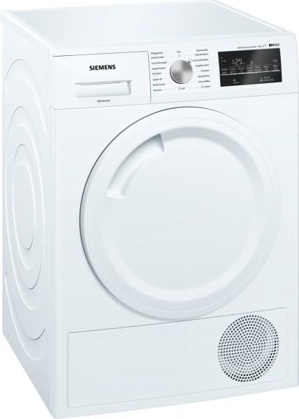 Siemens WT44W4A3 iQ500, Wärmepumpen-Trockner, 8 kg