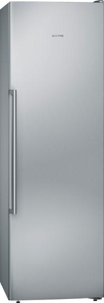 Siemens GS36NAIEP iQ500, Freistehender Gefrierschrank, 186 cm Edelstahl