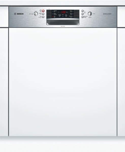 Bosch SMI46IS01D Spülmaschine integriert Silence Plus Edelstahl Exclusiv