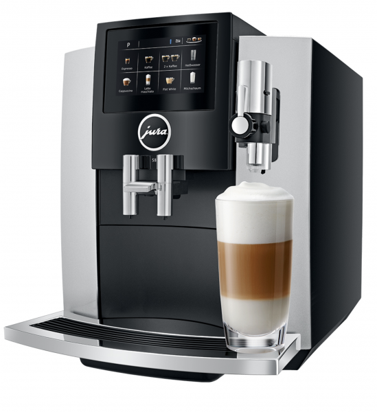 JURA S8 (EA)Moonlight Silver Kaffeevollautomat 15382