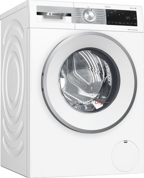 Bosch WNG24490 Serie   6, Waschtrockner, 9/6 kg, 1400 U/min.Exclusiv