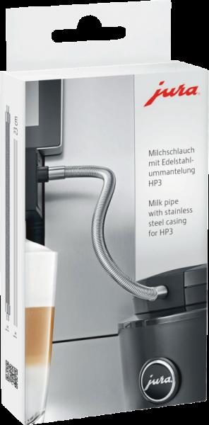 JURA HP3 Milchschlauch mit Edelstahlummantelung