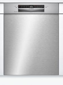 Bosch SMU4HBS00D Serie | 4, Unterbau-Geschirrspüler, 60 cm, Edelstahl Exclusiv