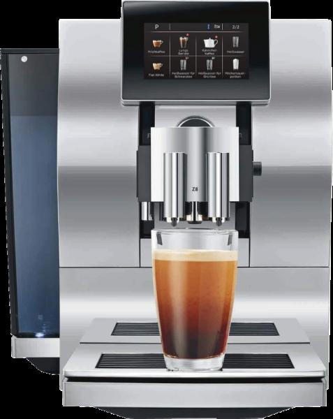 Jura Z8 Aluminium/Chrom Kaffeevollautomat One-Touch-Lungo