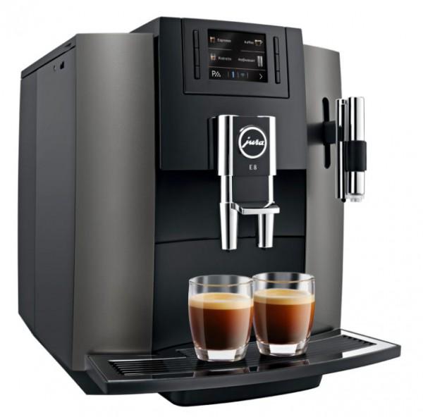 Jura E8 Dark Inox Kaffeevollautomat