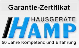 5 Jahre Hamp Garantieversprechen ab Kaufdatum J1223 bis 1500,-€