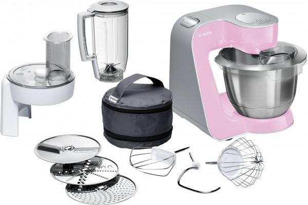 Bosch MUM58K20 Küchenmaschine, MUM5, 1000 W, Rosa