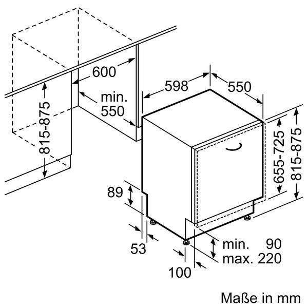 Bosch SMV46PX00D Spülmaschine vollintegriert SuperSilence Exclusiv