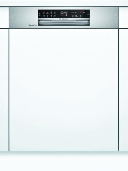 Bosch SMI6ECS57E Serie | 6, Teilintegrierter Geschirrspüler, 60 cm, Edelstahl