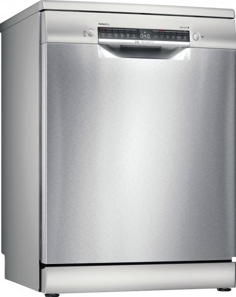 Bosch SMS6TCI00E Serie | 6, Freistehender Geschirrspüler,Edelstahl, lackiert