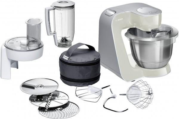 Bosch MUM58L20 Küchenmaschine, MUM5, 1000 W, Grau
