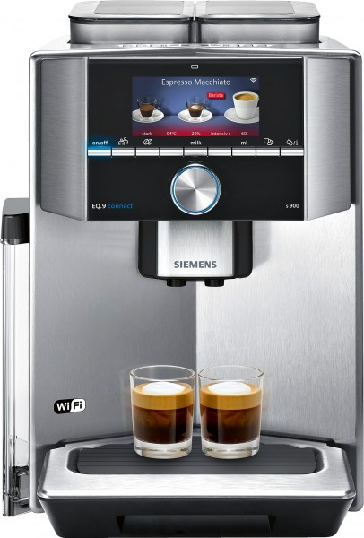 Siemens TI909701HC Kaffeevollautomat EQ.9 connect s900 Home Connect