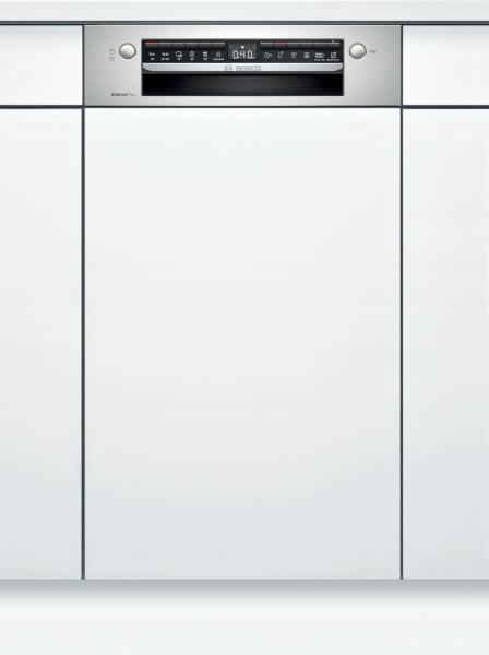Bosch SPI4HMS61E Serie | 4, Teilintegrierter Geschirrspüler, 45 cm, Edelstahl