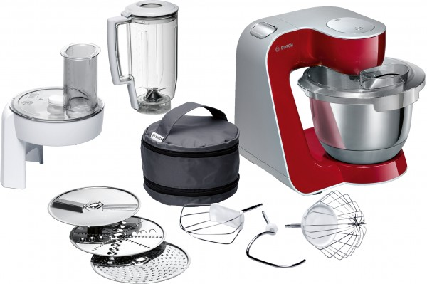 Bosch MUM58720 Küchenmaschine, MUM5, 1000 W, Rot