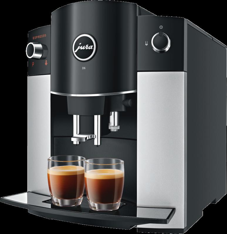 JURA D6 Platin Kaffeevollautomat