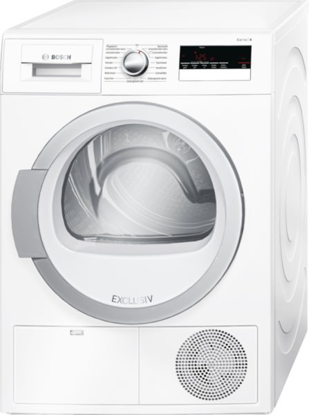 Bosch WTH85280 Wärmepumpentrockner Exclusiv
