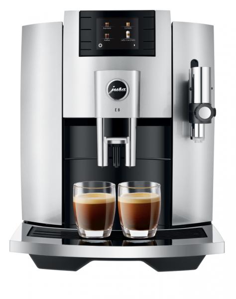 JURA E8 (EB) Moonlight Silver Kaffee-Vollautomat