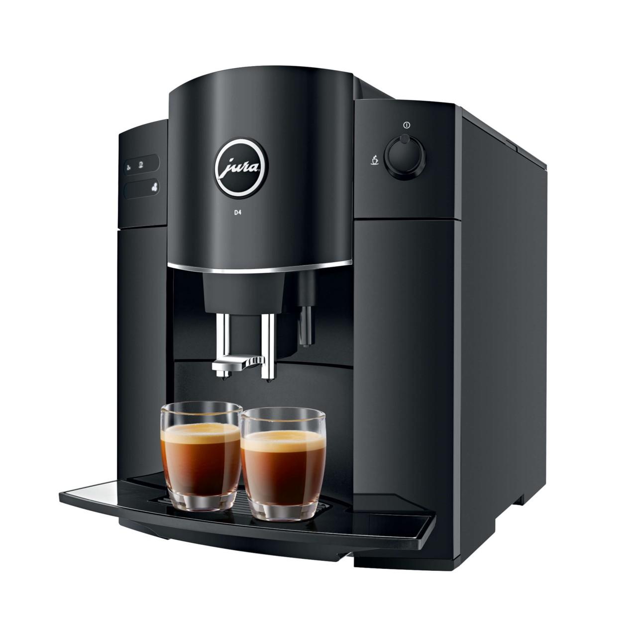 JURA D4 Piano Black Kaffeevollautomat