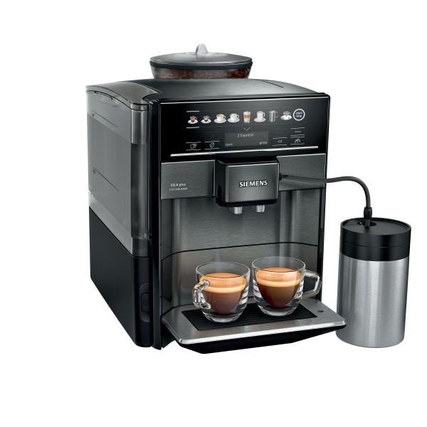Siemens TE657F09DE EQ.6 plus extraKlasse Kaffeevollautomat dark inox