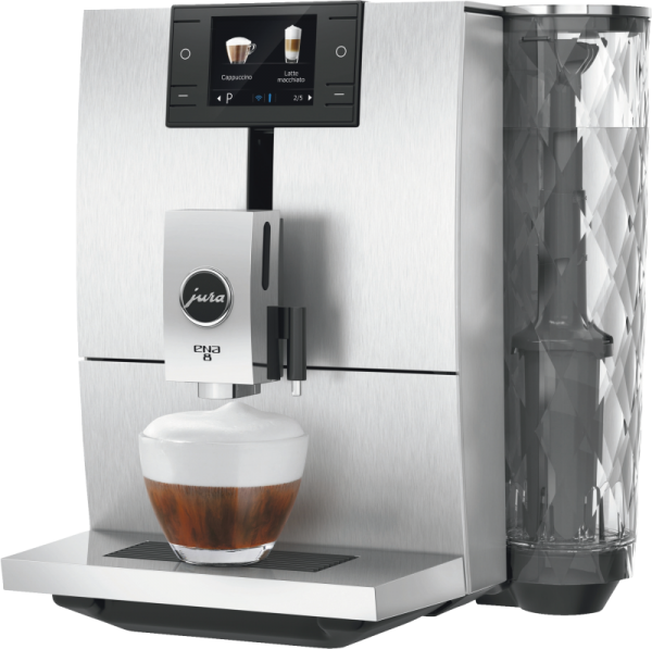 JURA ENA 8 Signature Line Touch Aluminium Kaffeevollautomat 15330