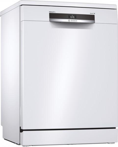 Bosch SMS6ECW07E Serie | 6, Freistehender Geschirrspüler, 60 cm, weiß
