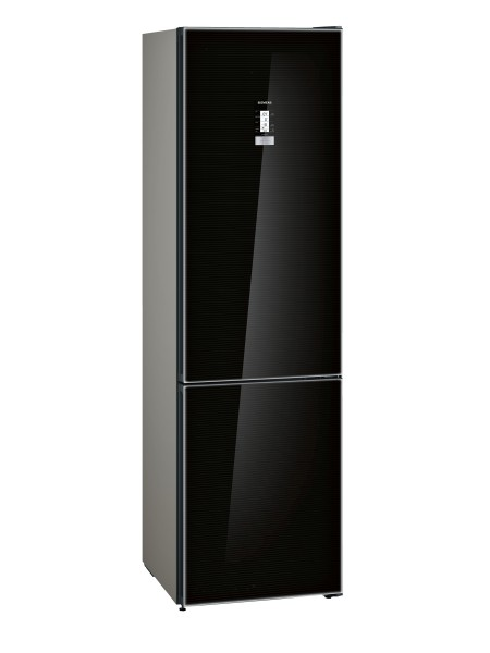 Siemens KG39FSB45 Kühl Gefrierkombi iQ700 noFrost Türen schwarz