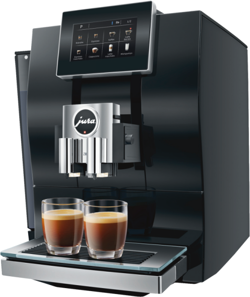 JURA Z8 Diamond Black Kaffeevollautomat Profi-Technologie