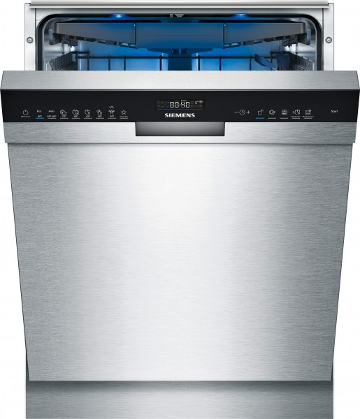 Siemens SN45ZS49CE iQ500, Unterbau-Geschirrspüler, 60 cm, Edelstahl