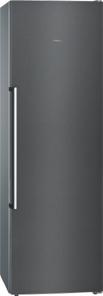 Siemens GS36NAXEP iQ500, Freistehender Gefrierschrank,186cm blackSteel