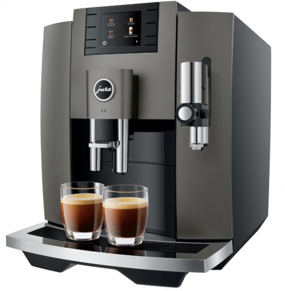 JURA E8 Dark Inox (EB) Kaffee-Vollautomat