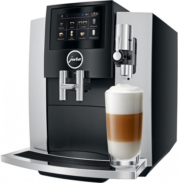 JURA S8 Moonlight Silver Kaffeevollautomat one touch