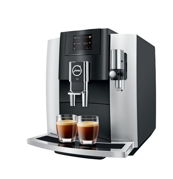 JURA E8 Touch Platin Kaffeevollautomat