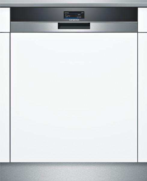 Siemens SN57YS01CE iQ700, Teilintegrierter Geschirrspüler, 60 cm, Edelstahl