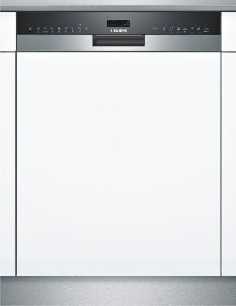 Siemens SX558S06TE iQ500,Teilintegrierter Geschirrspüler Edelstahl,XXL