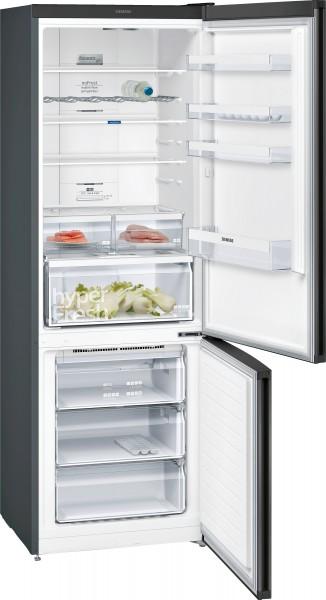 Siemens KG49NXX4A Kühl-Gefrier-Kombination Türen black inox IQ300