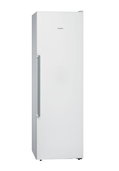 Siemens GS36NAWEP iQ500, Freistehender Gefrierschrank, 186 cm weiß