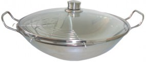 Bosch HEZ390090 Wok für Strahlung und Induktion