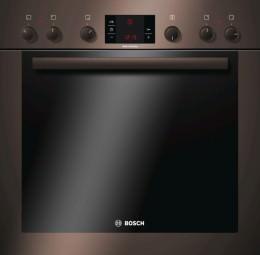 Bosch Einbauherd Set HND33MS40 3fach Auszug,braun Exclusiv
