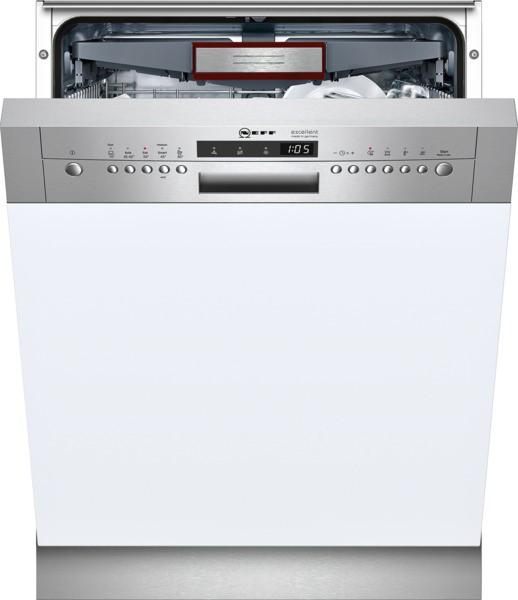 Neff geschirrspuler integriert s41m85n8de gi 852 n for Neff spülmaschinen