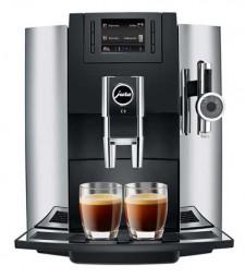 Jura E8 Chrom Kaffeevollautomat P.E.P.© für Espresso