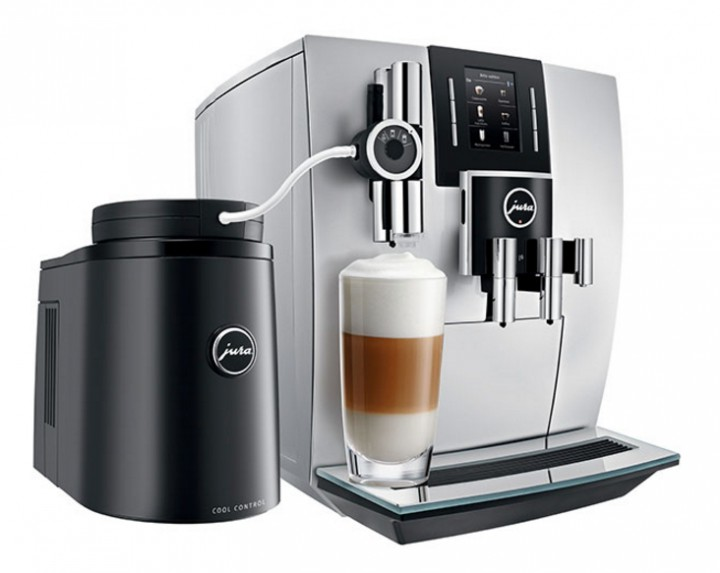 jura j6 piano white kaffeevollautomat hamp hausger te. Black Bedroom Furniture Sets. Home Design Ideas