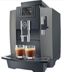 Jura WE8 Proffessional Kaffeevollautomat DarkInox für den Arbeitsplatz