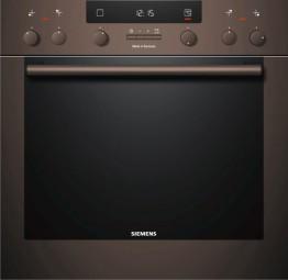 Siemens Einbauherd Set EQ351BK02R EXTRAKLASSE braun